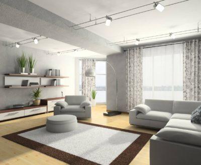 Dubai condominium interior 3D rendering