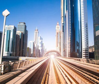 Dubai Metro 3D perspective